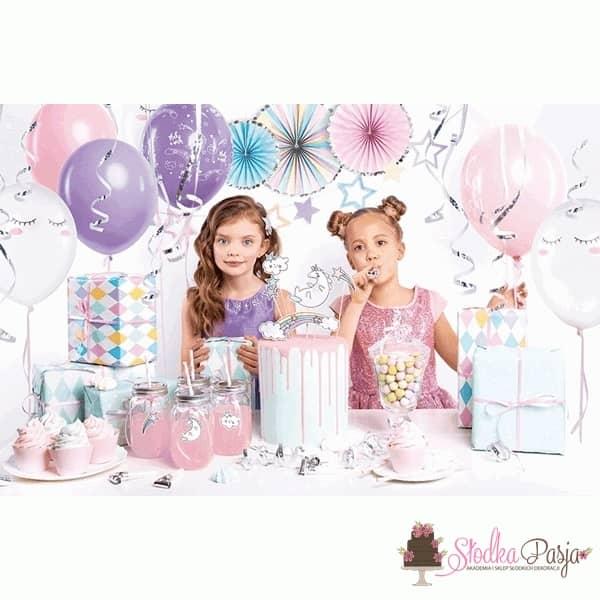 Zestaw urodzinowy dla dzieci Jednorożec