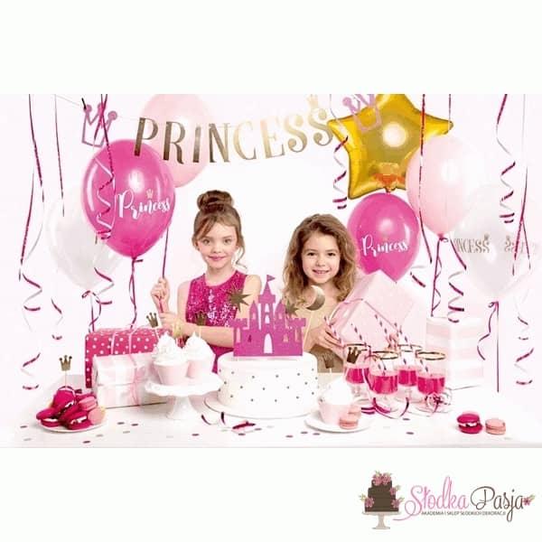 Zestaw urodzinowy dla dzieci Princess