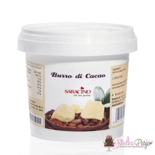 Masło kakaowe SARACINO - 200 G