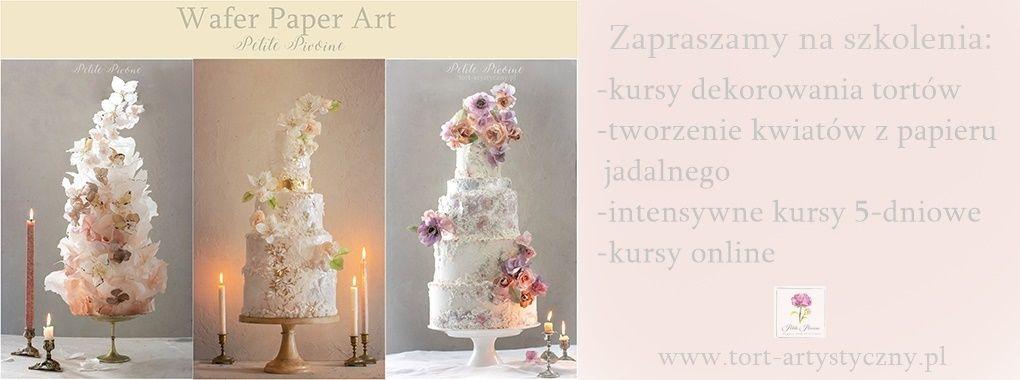 Kurs dekorowania tortów Beata Tomasiewicz