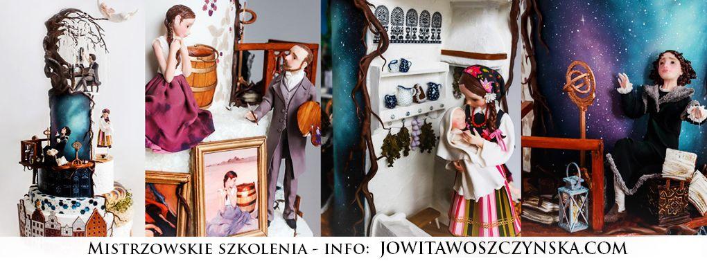 Kurs dekorowania tortów Jowita Woszczyńska