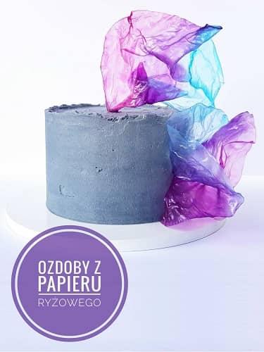 Cakei poleca barwnik Food Colours fiolet w żelu