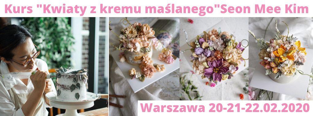 Kurs dekorowania tortów Seon Mee Kim